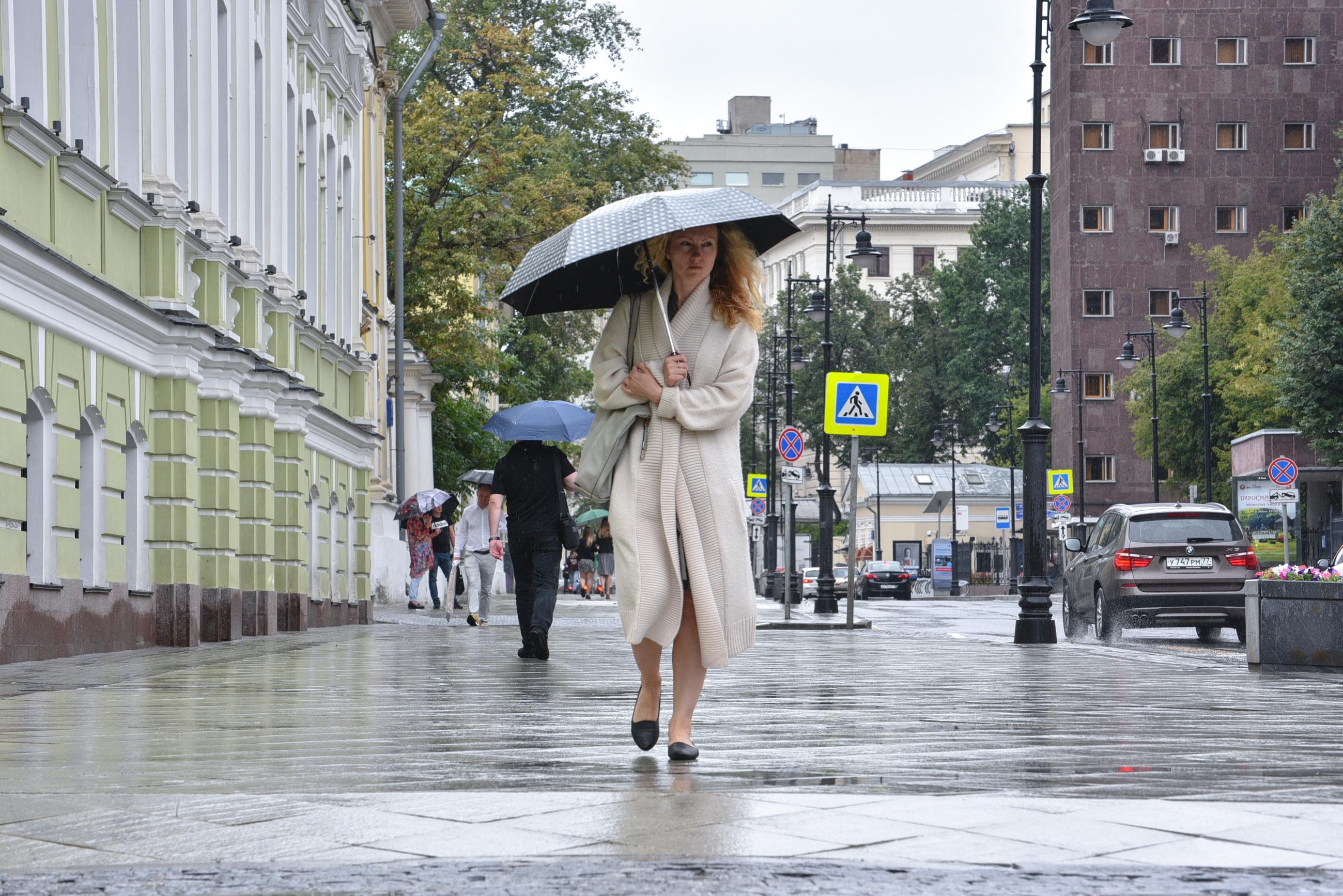 Четверг в Москве может стать самым холодным днем августа