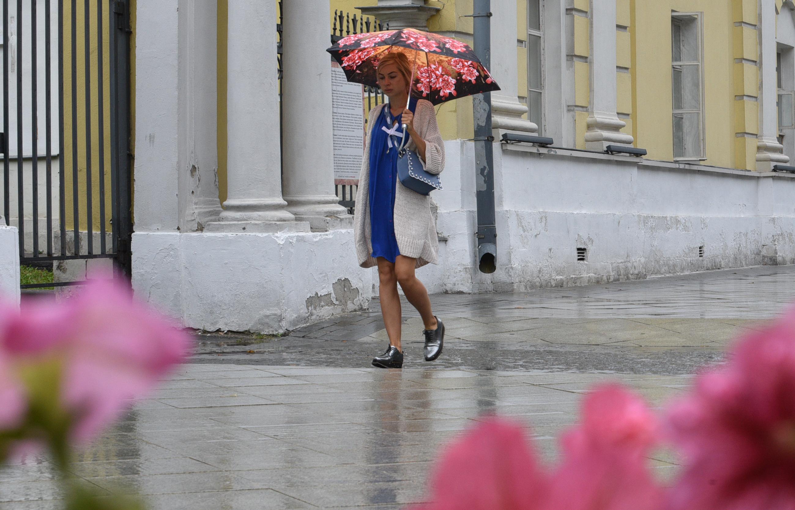 Москвичей ждут осадки в пятницу