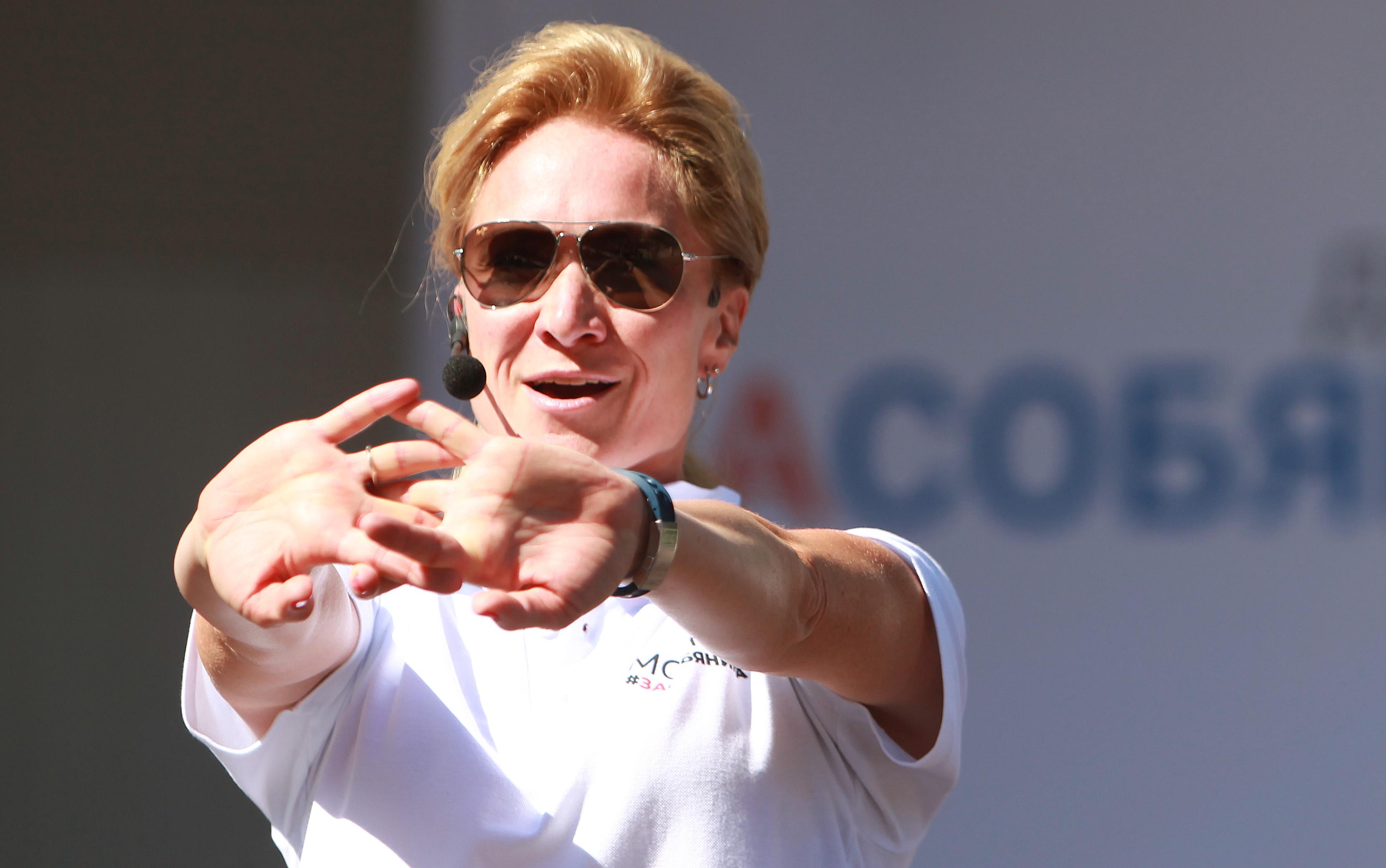 Депутат Мосгордумы Мария Киселева: Тренировки в парках Москвы помогают быть в тонусе