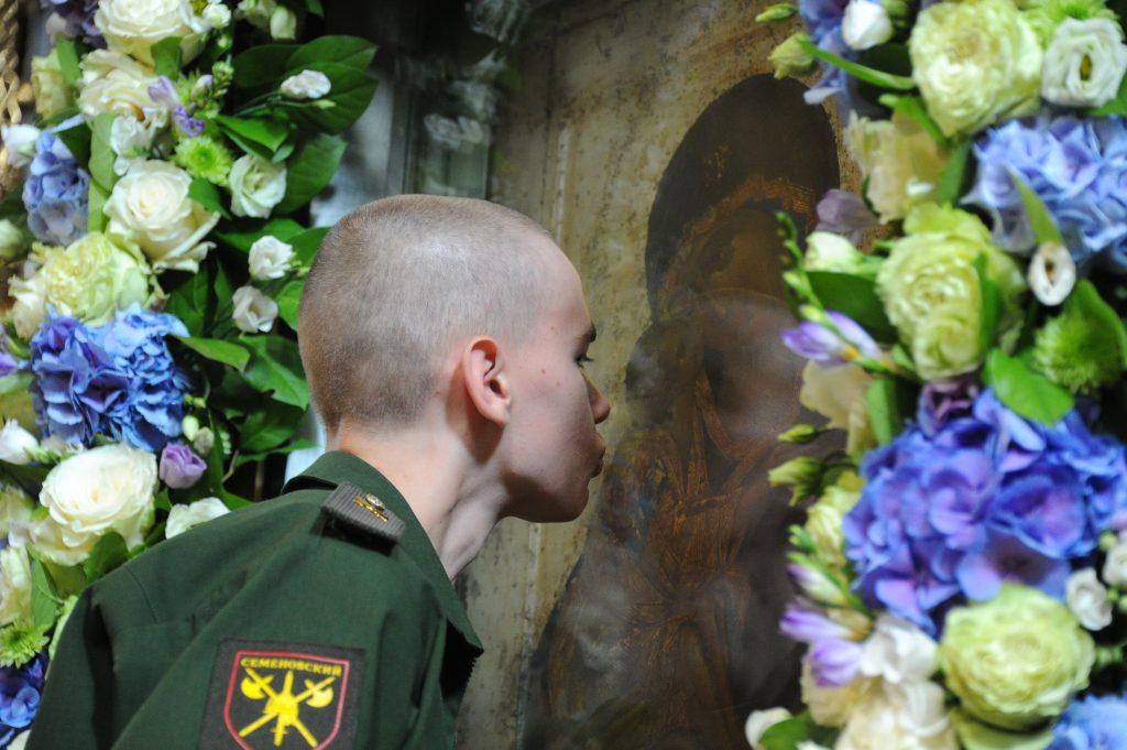 Донскую икону Божией Матери привезут в Южный округ. Фото: Светлана Колоскова, «Вечерняя Москва»
