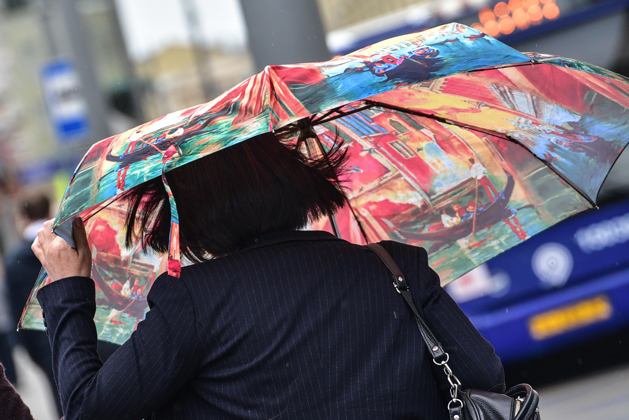 Москвичей ждут дожди и порывистый ветер