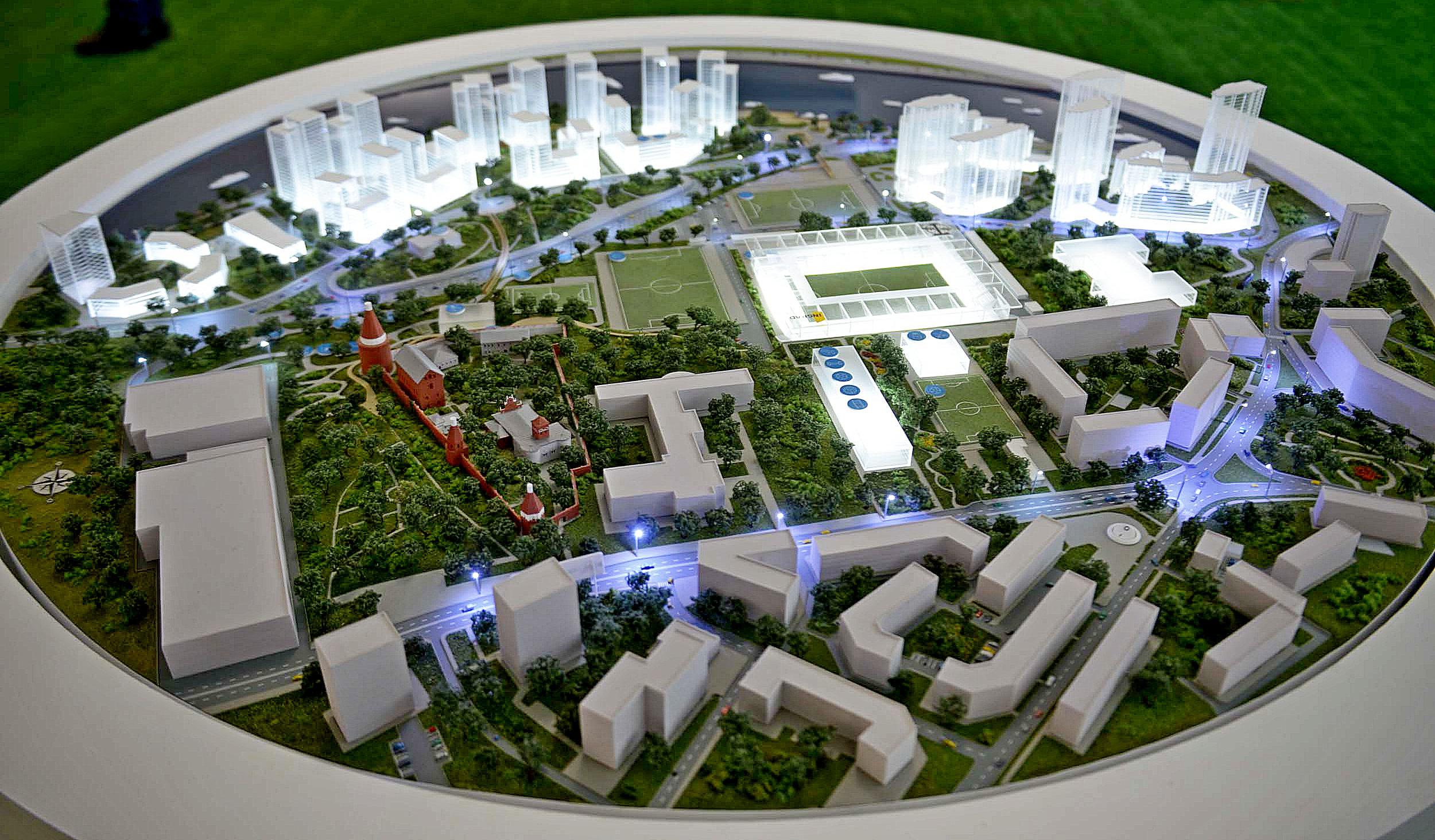 Болельщикам «Торпедо» показали проект развития клуба до 2024 года