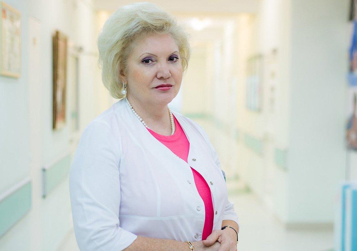На фото депутат Московской городской Думы, главный врач городской клинической больницы имени Виноградова Ольга Шарапова
