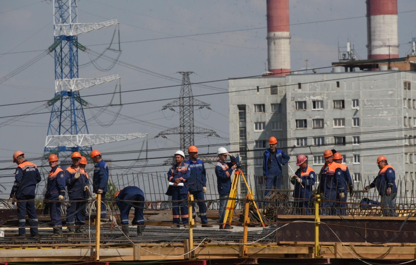 Четыре развязки начнут реконструировать на МКАД до 2021 года