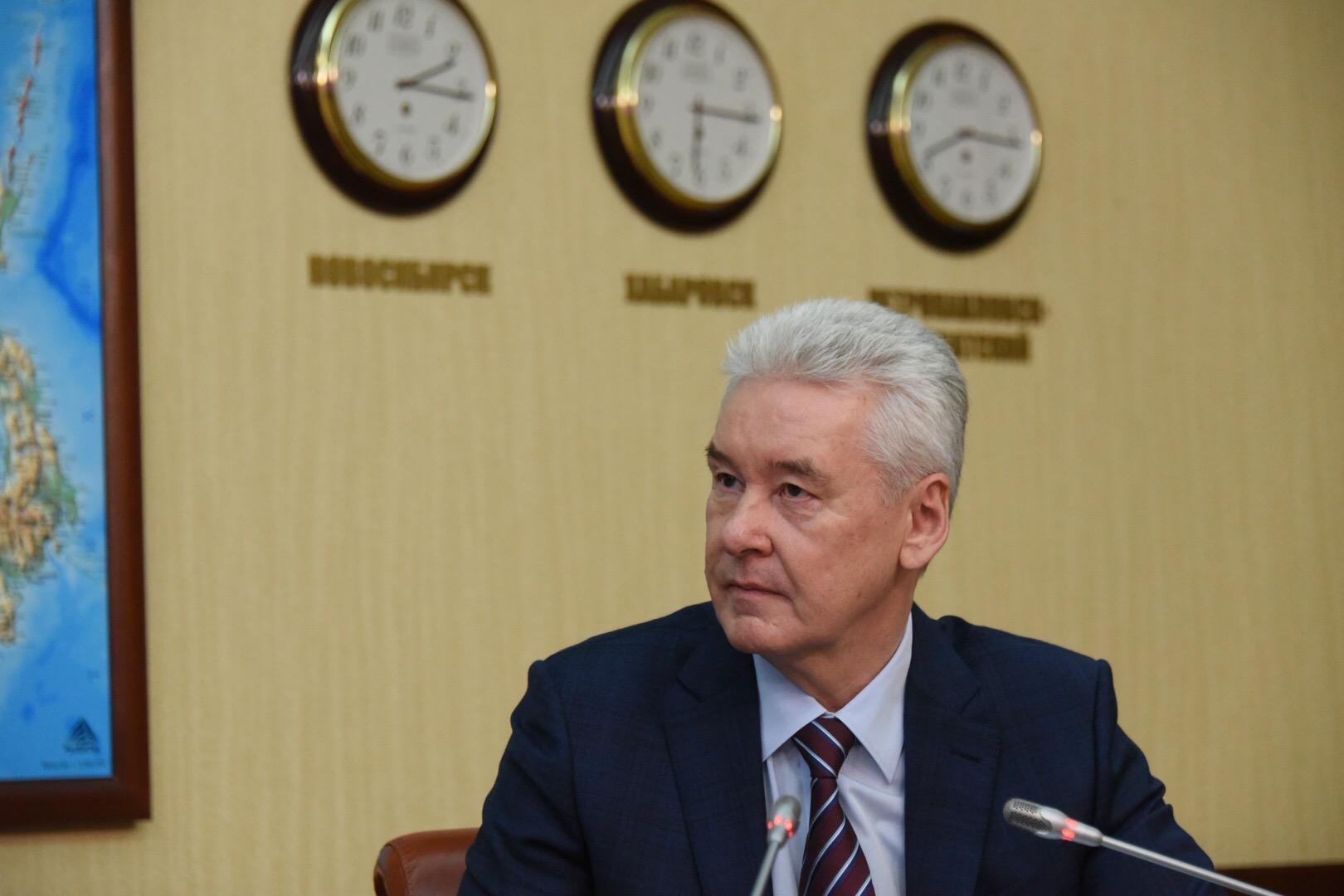 Собянин открыл единый склад хранения театральных декораций и фондов музеев
