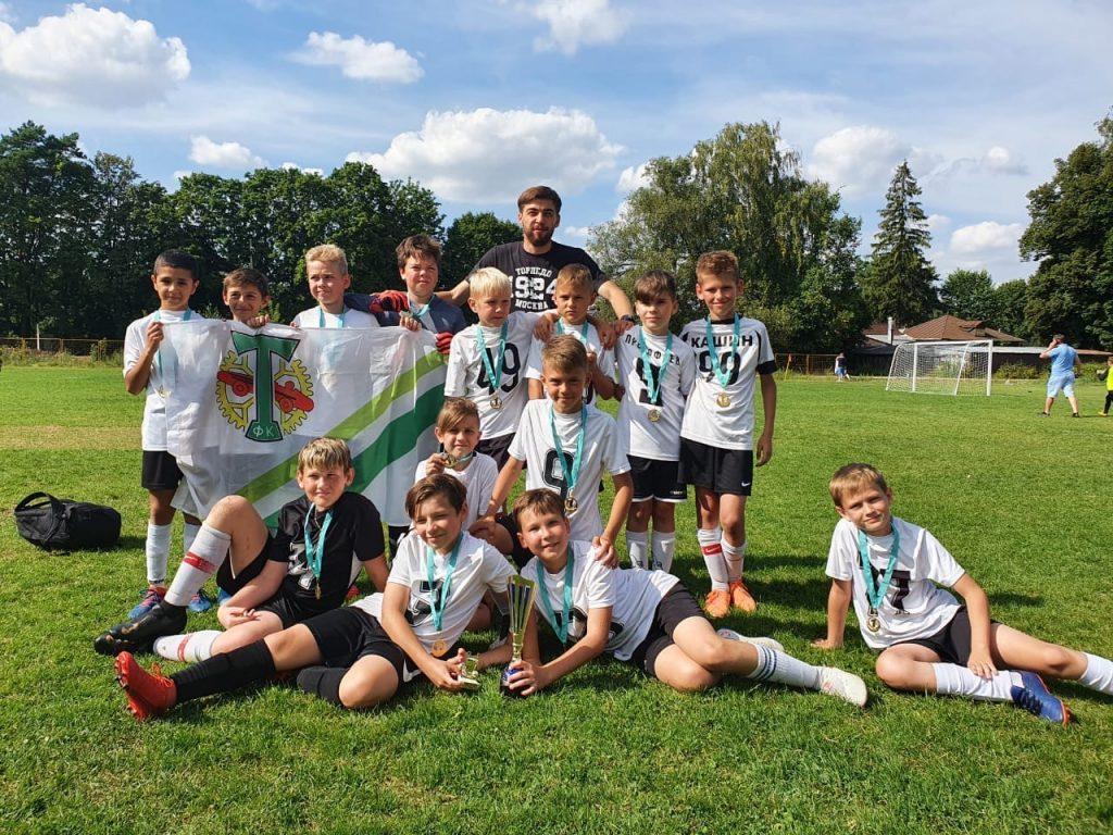 Юные футболисты «Торпедо» выиграли кубок Alliance Cup. Фото: сообщество ФШ «Торпедо» в социальных сетях