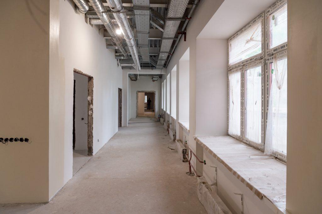 Реконструкцию общежития МГАВТ планируют завершить весной 2021 года. Фото: сайт мэра Москвы