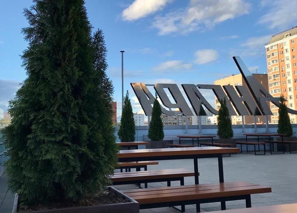 Террасу открыли на крыше «Ангары».Фото предоставили в пресс-службе районного центра «Ангара»