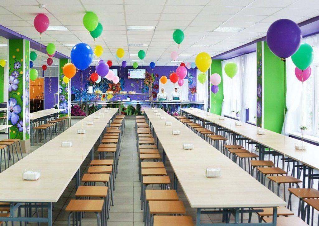 Школьные столовые преобразили в двух образовательных учреждениях юга. Фото: сайт мэра Москвы