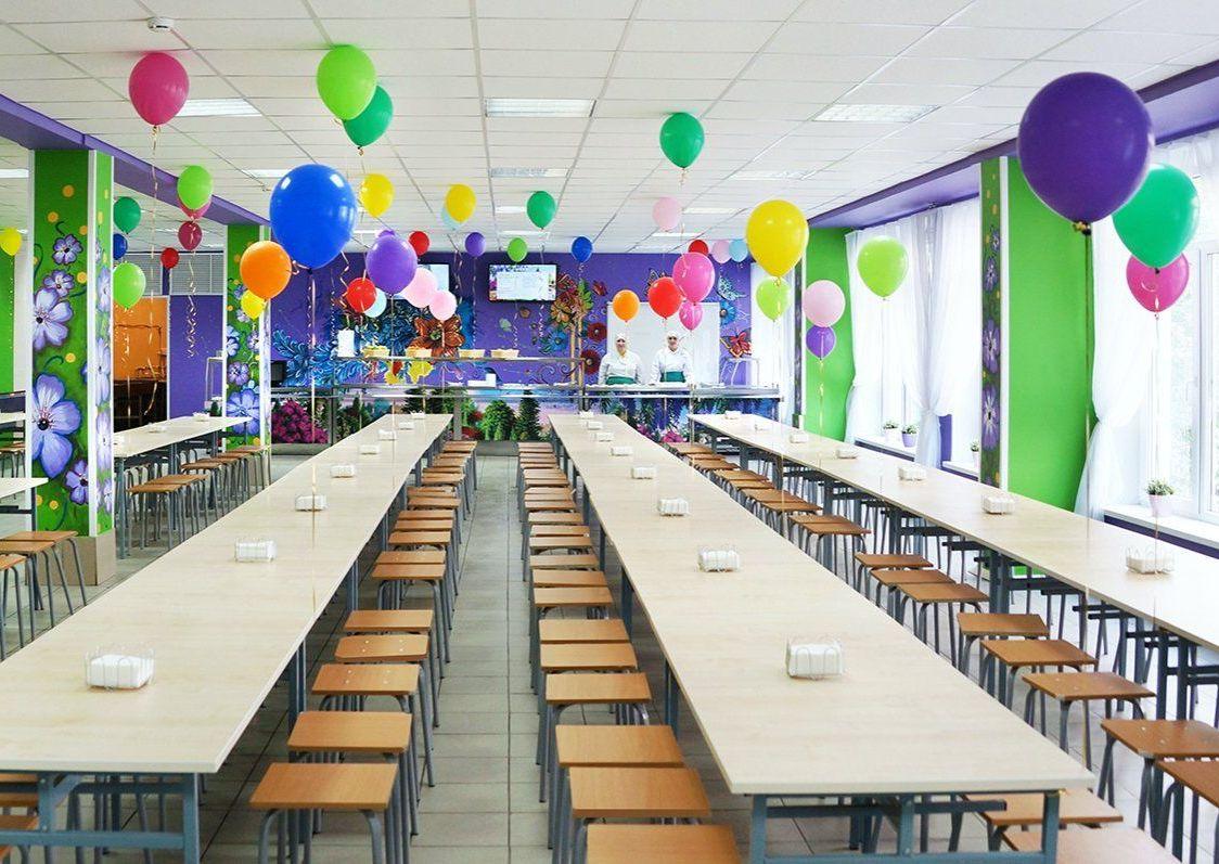 Школьные столовые преобразили в двух образовательных учреждениях юга