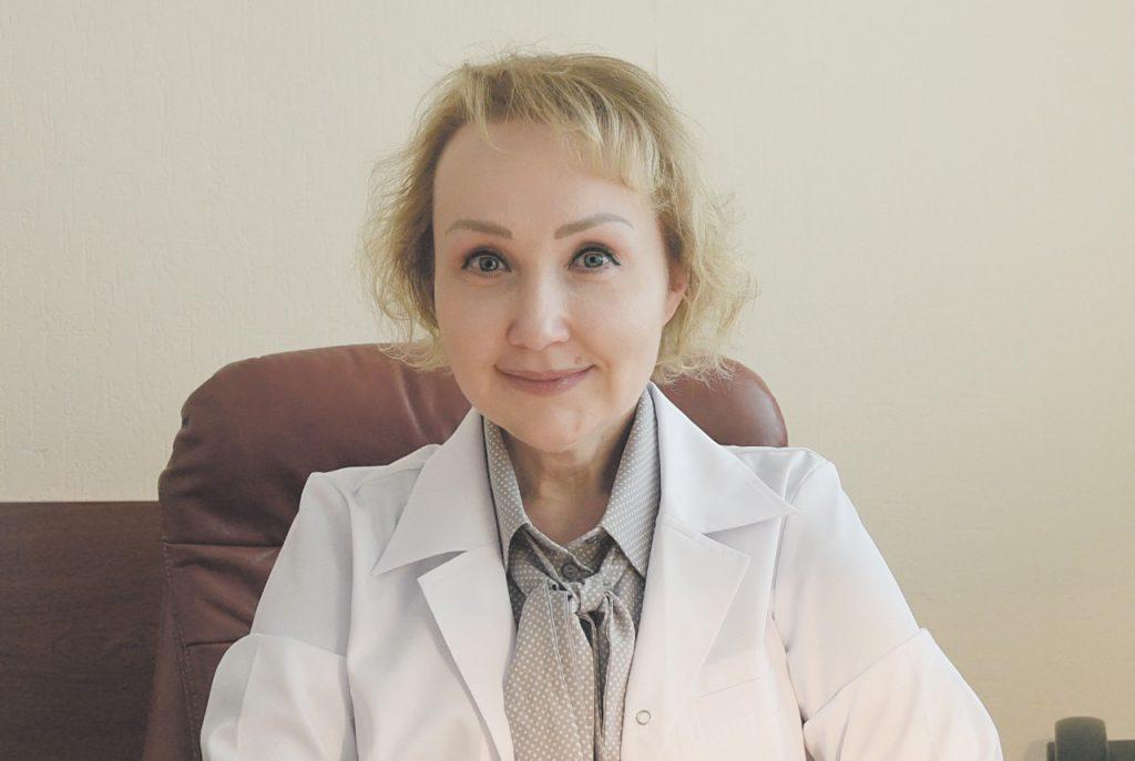 Депутат Мосгордумы, главный врач городской поликлиники №3 департамента здравоохранения столицы Елена Самышина