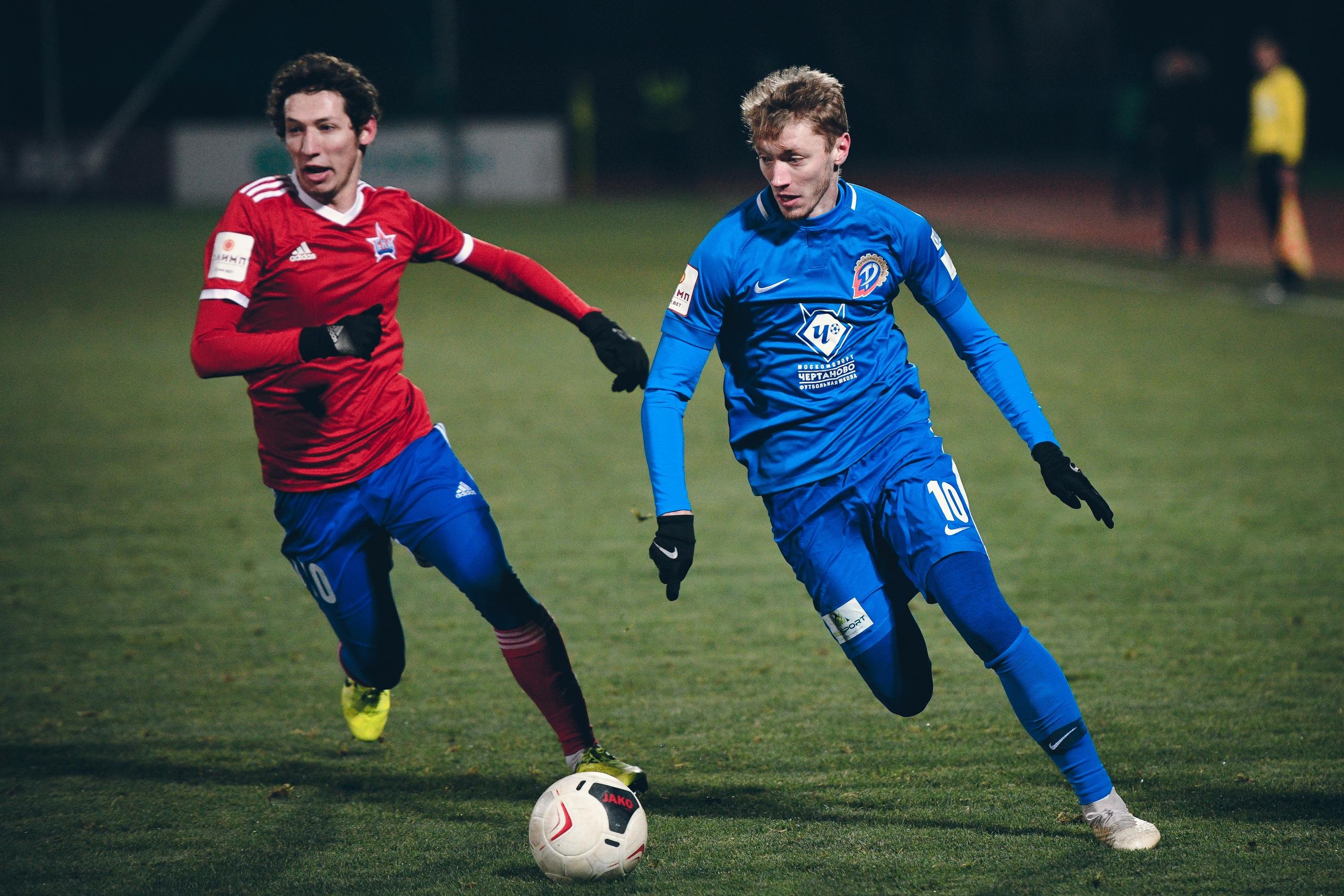 Молодежная команда «Чертаново» сыграет в РПЛ