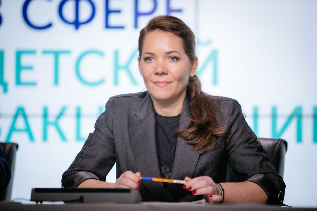 Анастасия Ракова, заместитель мэра Москвы по вопросам соцразвития: