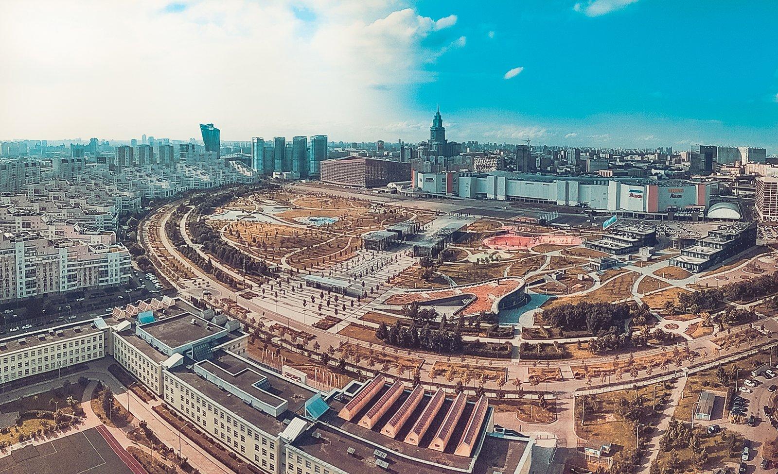 Москвичи выбрали фотографию парка для оформления тематической «Тройки»