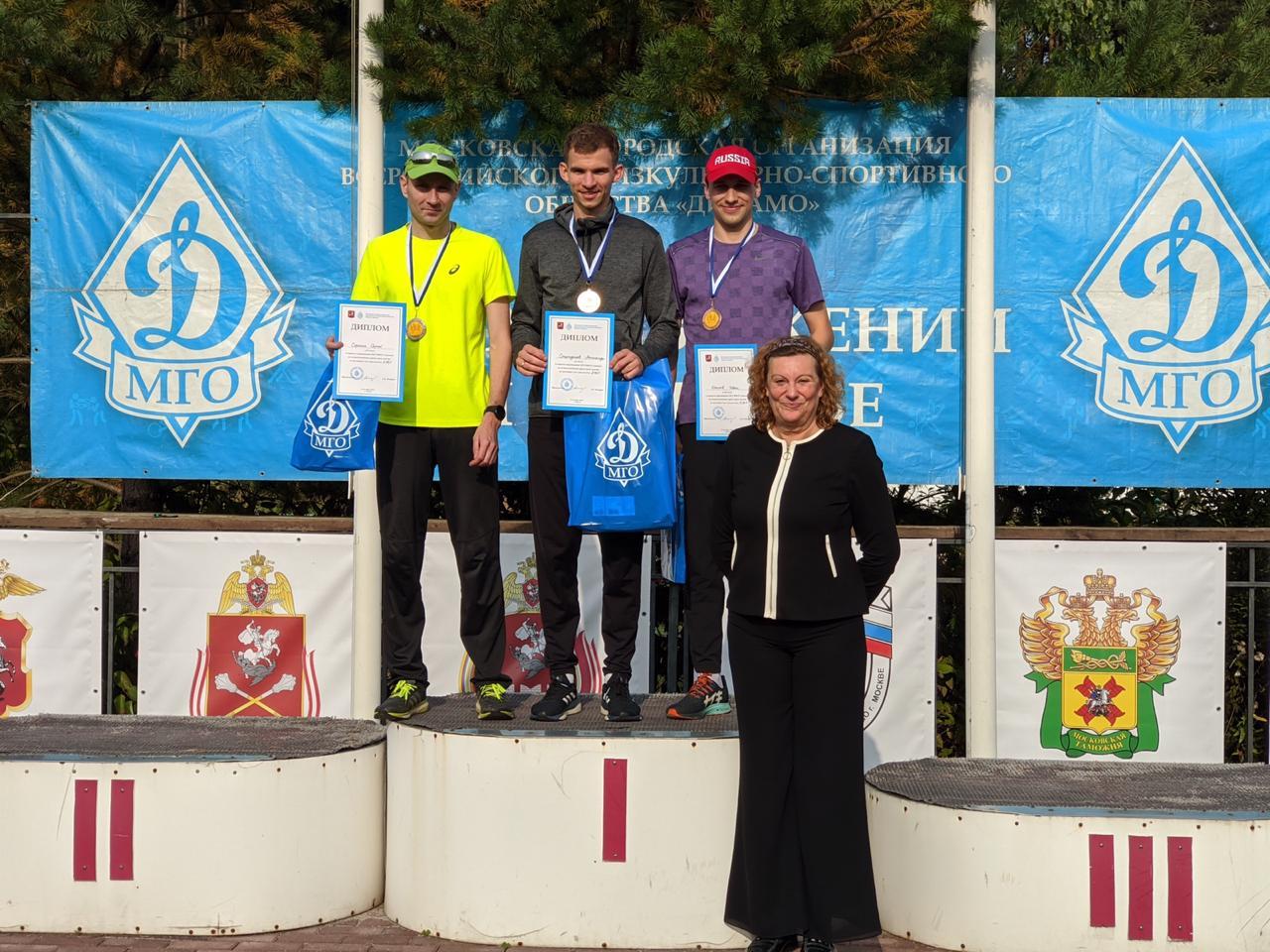 Полицейские Южного округа Москвы заняли призовые места в соревнованиях по легкоатлетическому кроссу