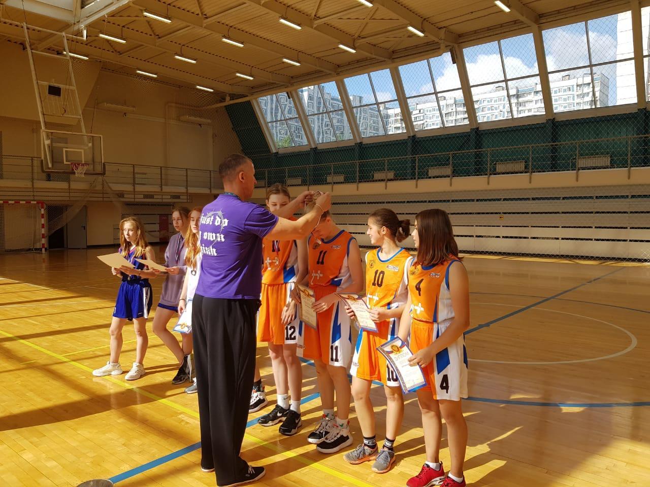 Сборная Царицына по стритболу выступит в финале городской спартакиады