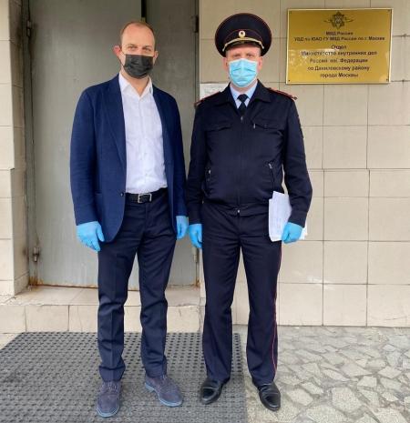 Члены Общественного совета при УВД по ЮАО Лилиана Воронцова и Александр Трунов приняли участие в акции «Гражданский мониторинг»