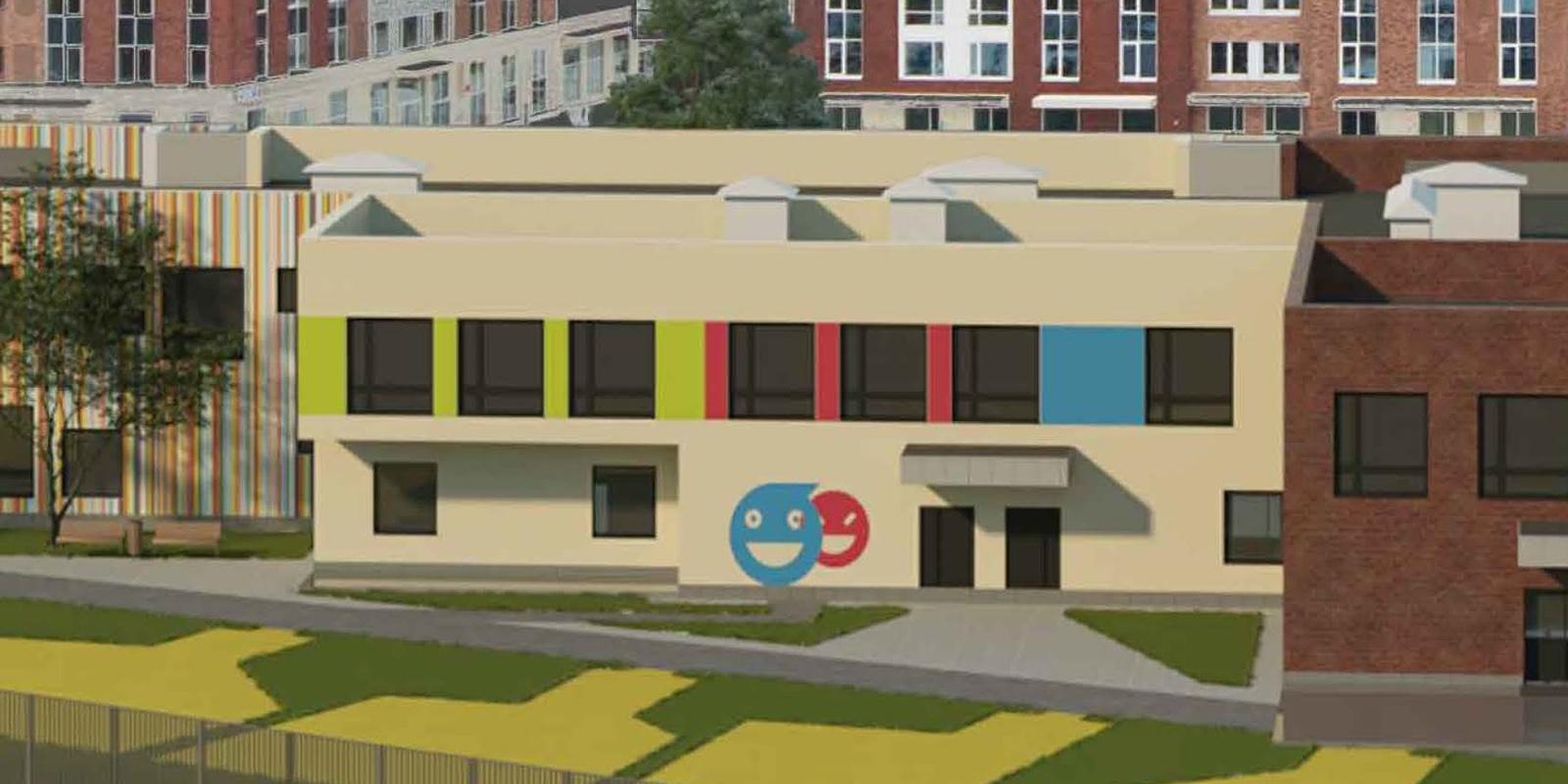 Детский сад со смайликами на фасадах построят в Москве