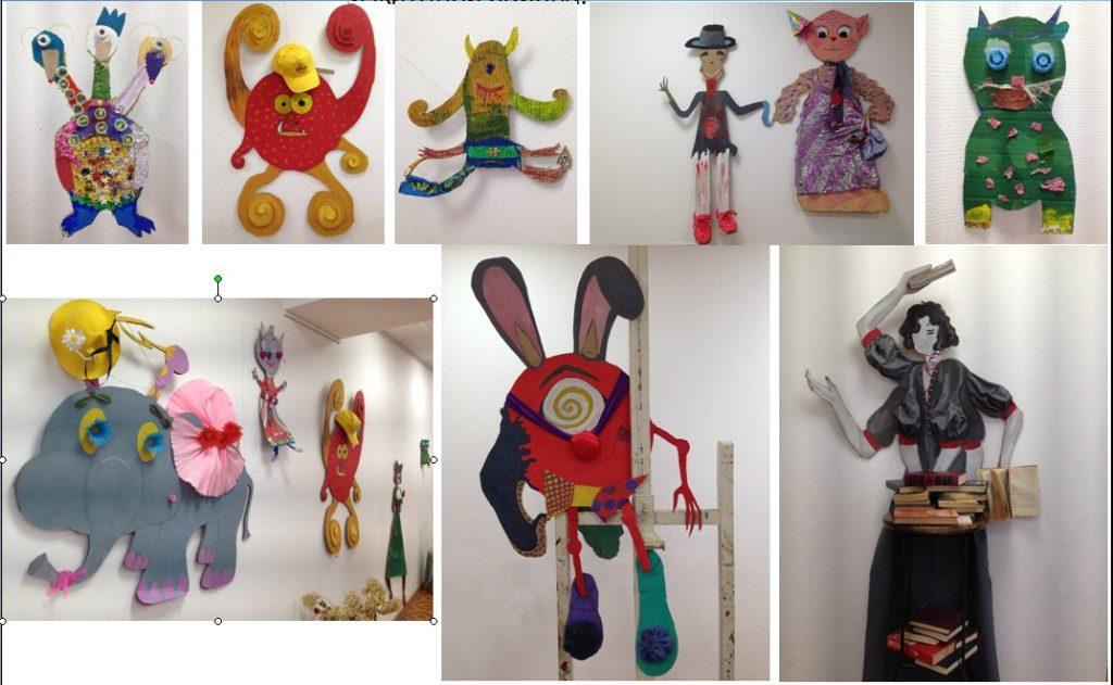 Необычную выставку детского творчества открыли в галерее «Москворечье». Фото предоставили в пресс-службе Культурного центра «Москворечье»