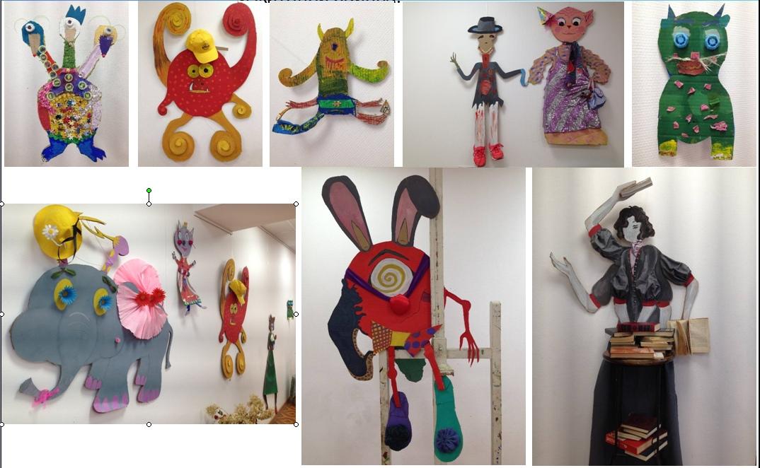 Необычную выставку детского творчества открыли в «Москворечье»