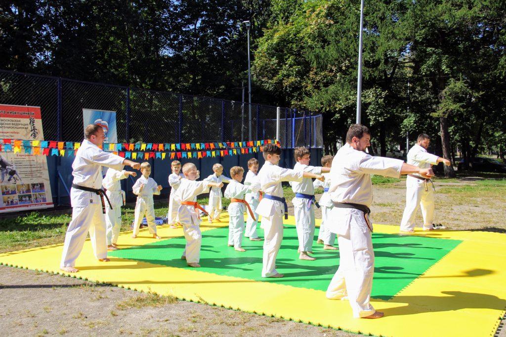 Семьи округа пригласили на мастер-класс по айкидо. Фото: страница Центра досуга «Личность» в социальных сетях