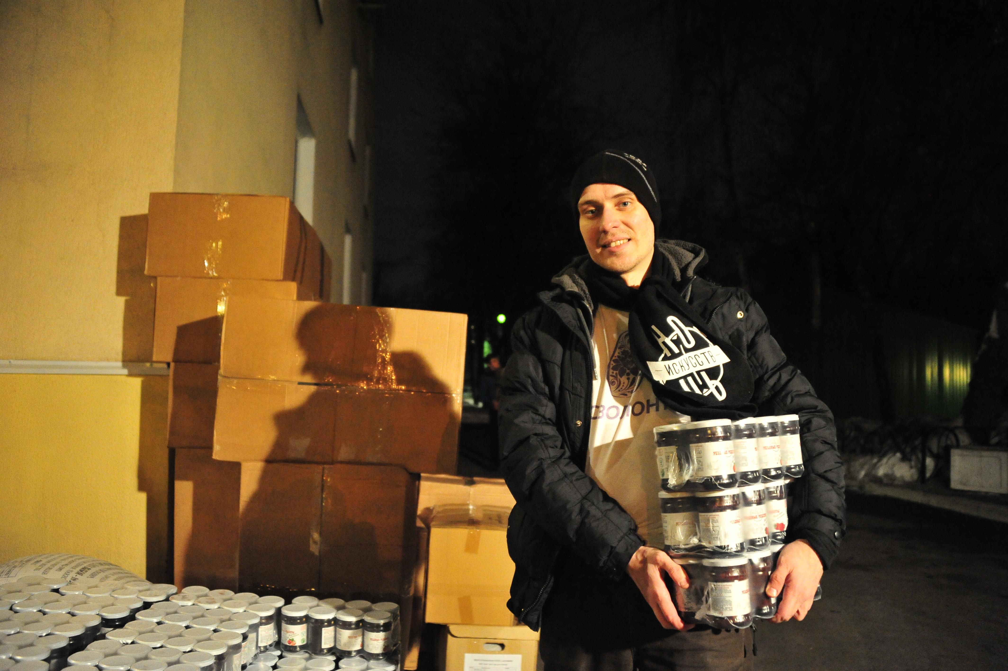 Волонтеры Социального центра Святителя Тихона помогли жителям Ярославской области