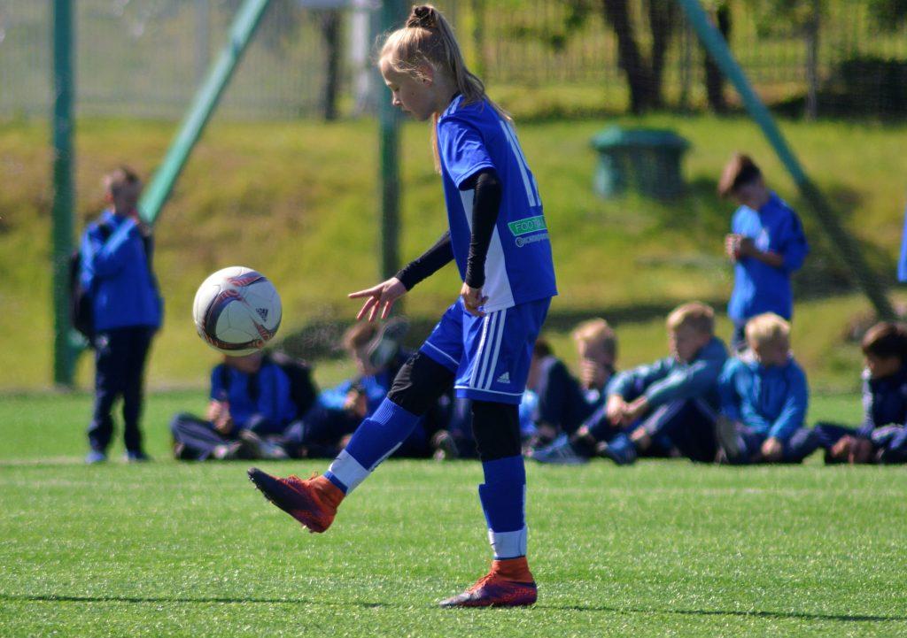 Футболистки «Чертаново» выиграли у «Сокола» со счетом 9:1. Фото: Анна Быкова