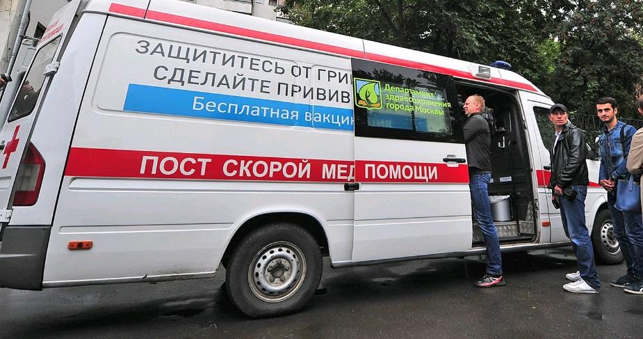 100 тыс москвичей привились от гриппа в первые дни вакцинации