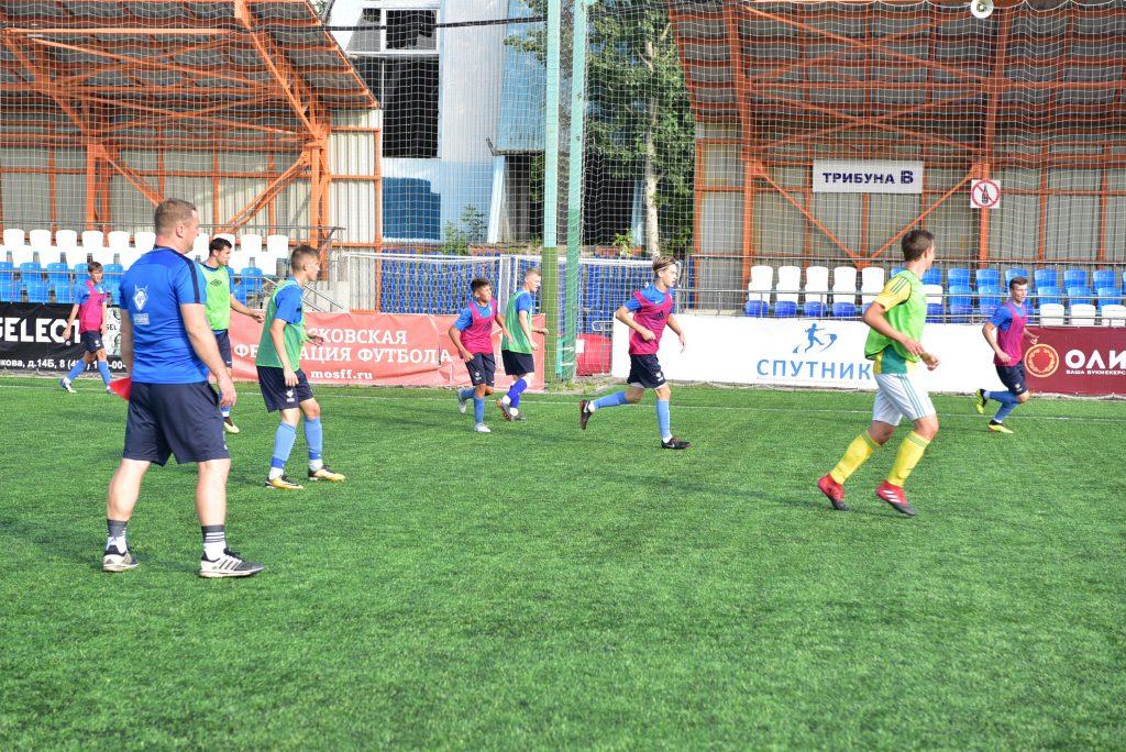 Директора футбольной школы «Чертаново» номинировали на спортивную премию. Фото: Пелагия Замятина, «Вечерняя Москва»