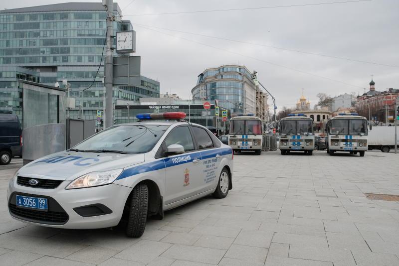 На юге столицы задержан подозреваемый в угоне автомобиля