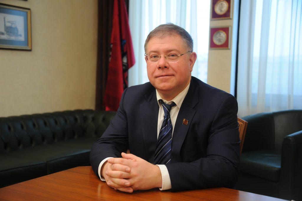 Депутат Московской городской Думы Степан Орлов