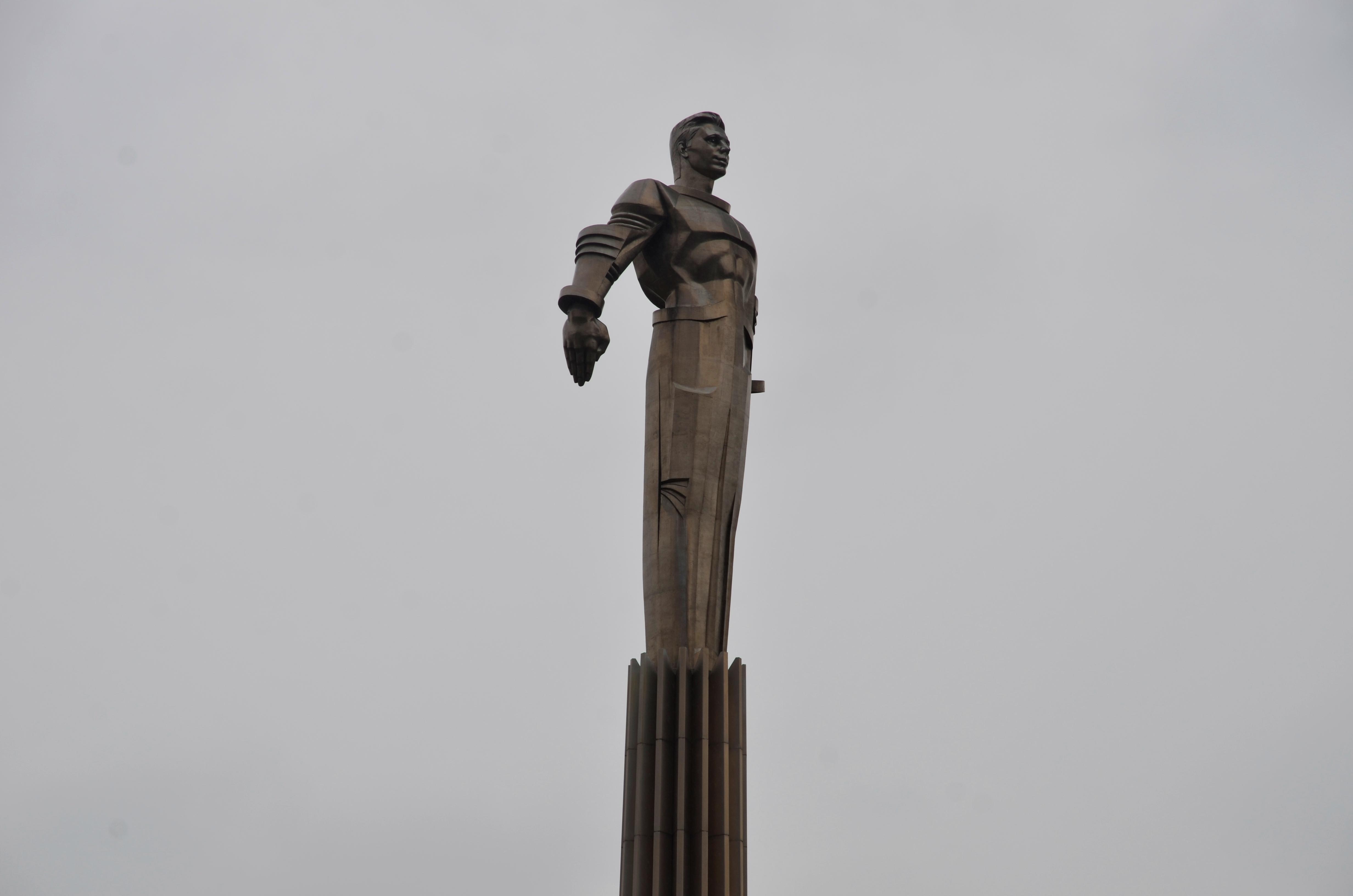 Памятник Юрию Гагарину могут признать лучшим в столице