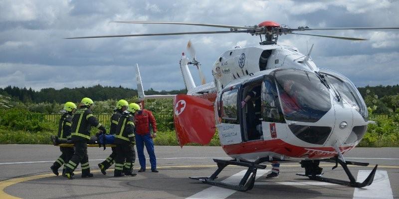 За три месяца сотрудники Московского авиационного центра спасли 154 человека