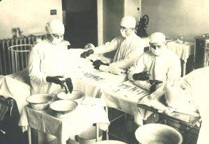 Врачи Павловской больницы во время Первой мировой войны. Фото: пресс-служба ГКБ 4