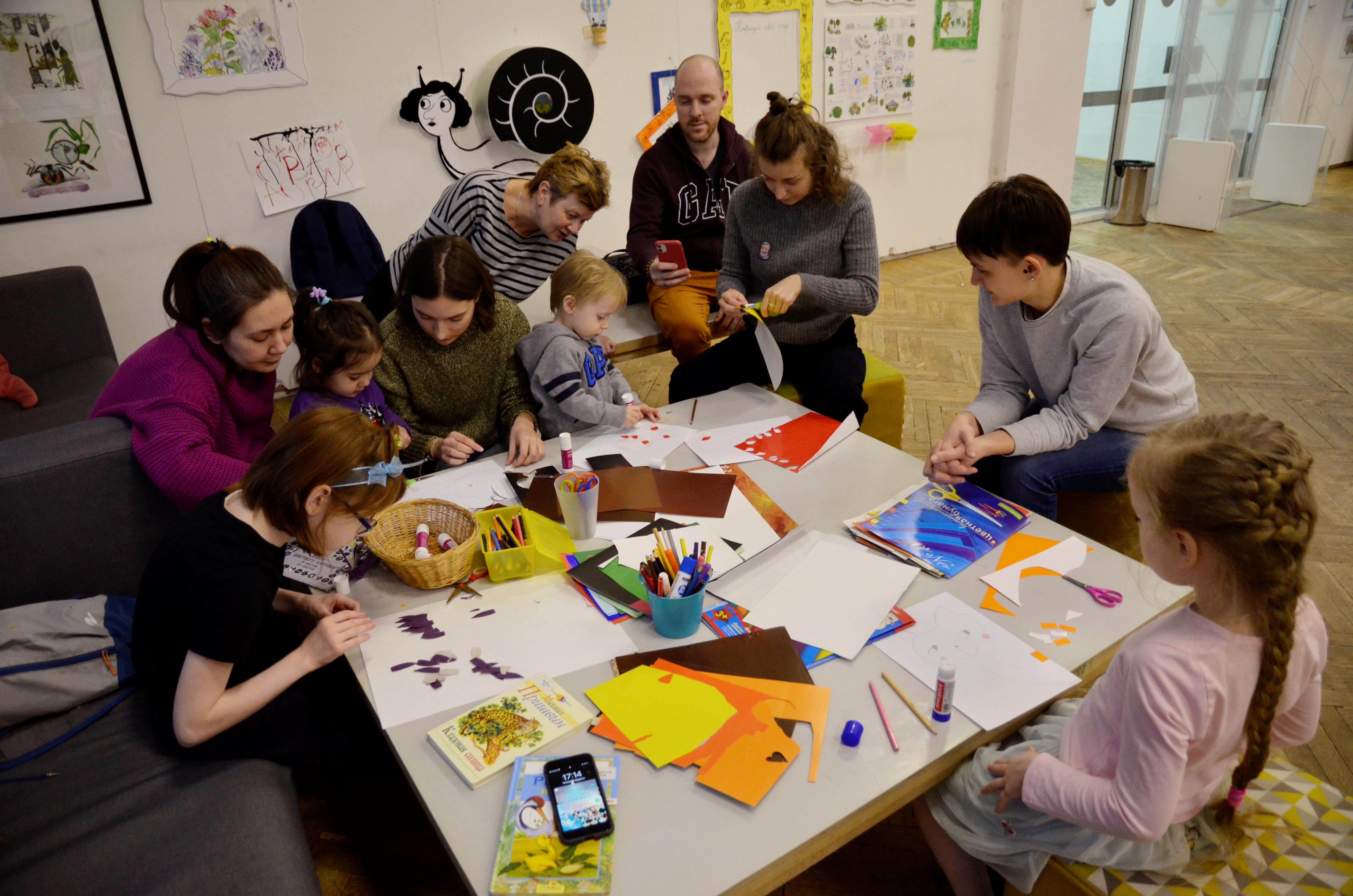 Семейный мастер-класс проведут в «НЕО-XXI Век»