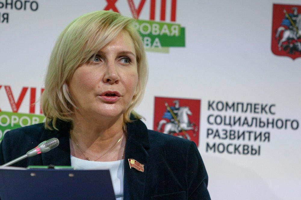 На фото депутат Московской городской Думы Наталия Метлина