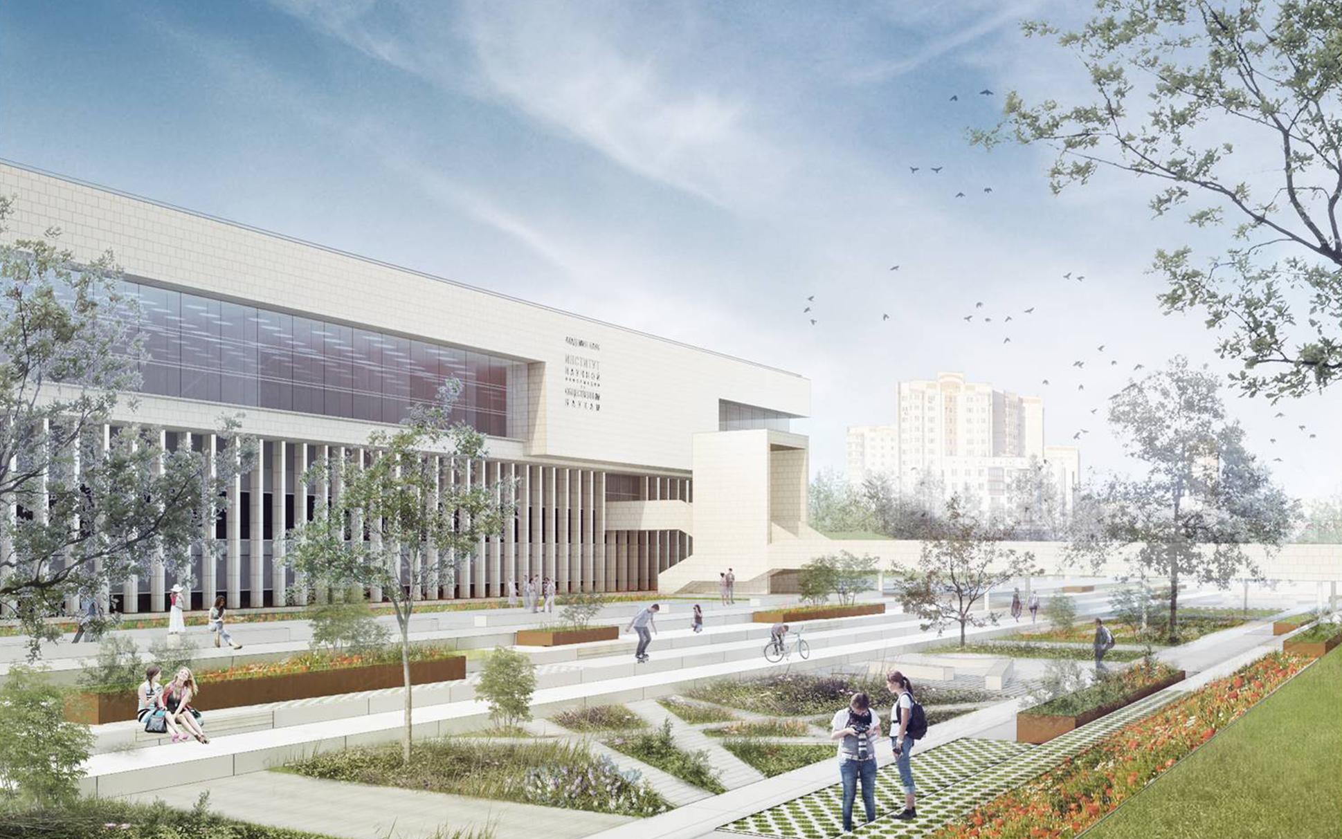 Библиотеку ИНИОН РАН на юго-западе Москвы восстановят до 2022 года