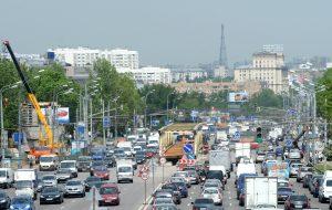 БЫЛО: Варшавское шоссе стояло в пробках (2013). Фото: ВАЛЕРИЙ ШАРИФУЛИН / ТАСС