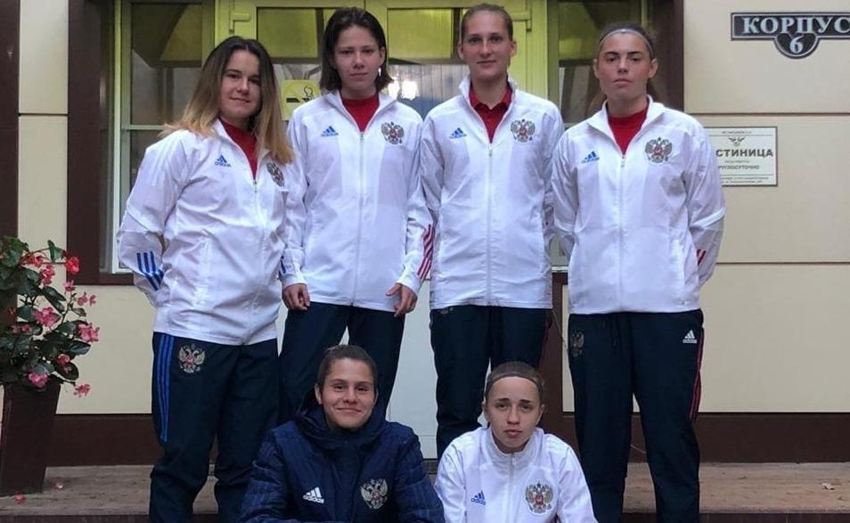 Футболистки «Чертанова» успешно провели матч в составе сборной России
