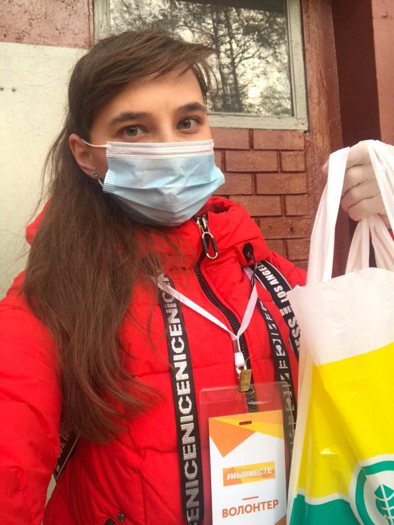 Алена Авдеева, волонтер проекта #МыВместе