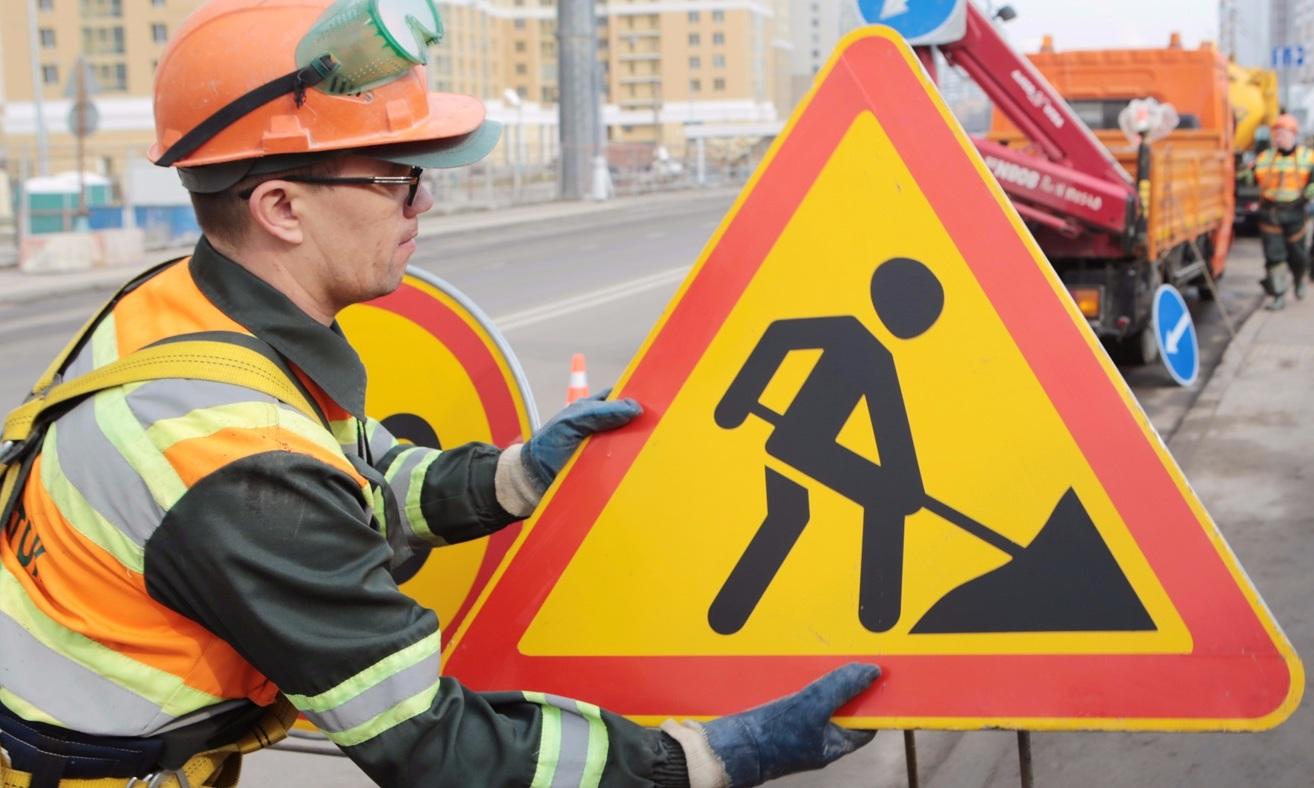 Восемь участков Варшавского шоссе перекроют до осени 2021 года