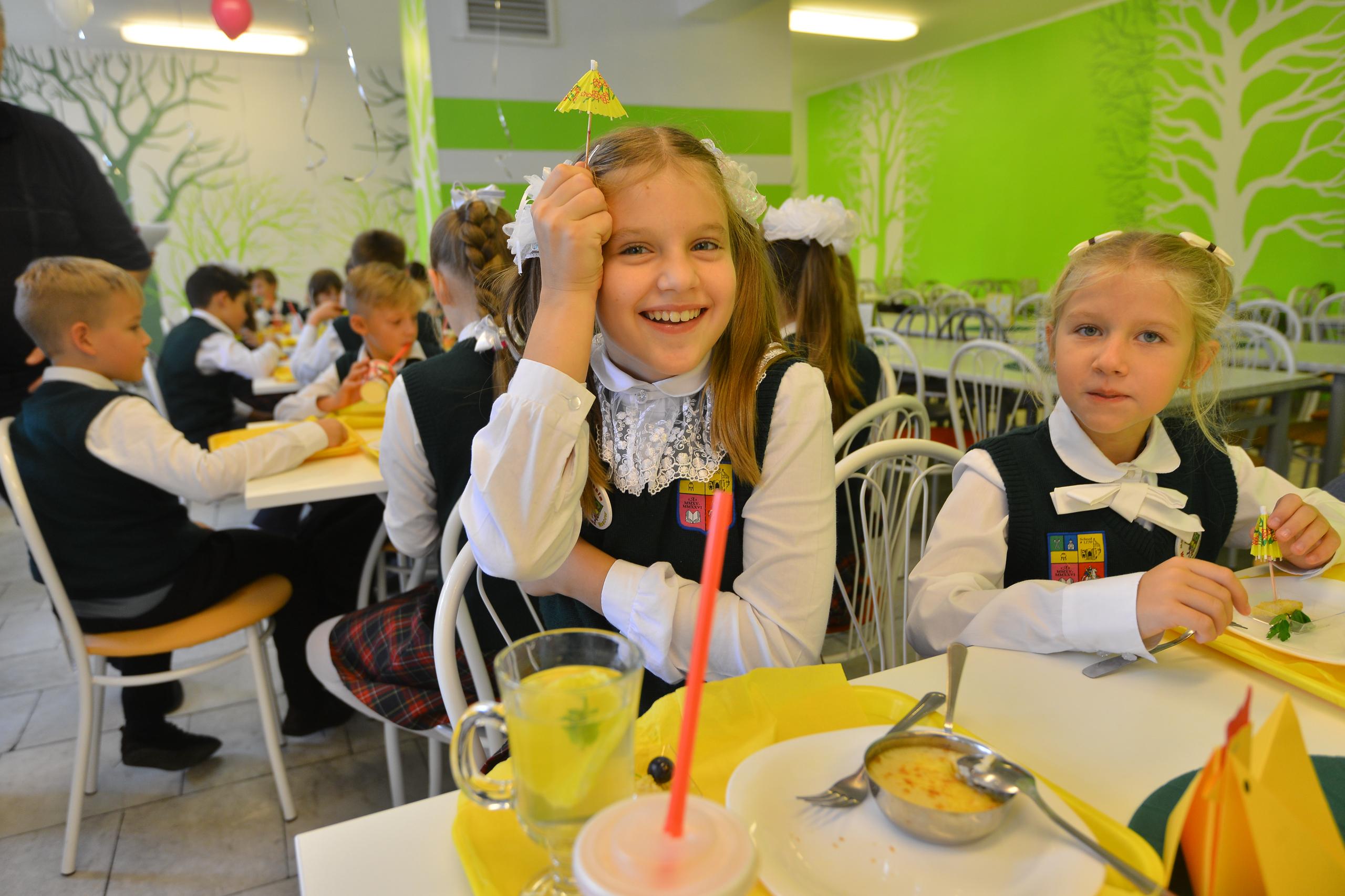 Родители могут выбрать меню для школьника через сервис «Госуслуги Москвы»