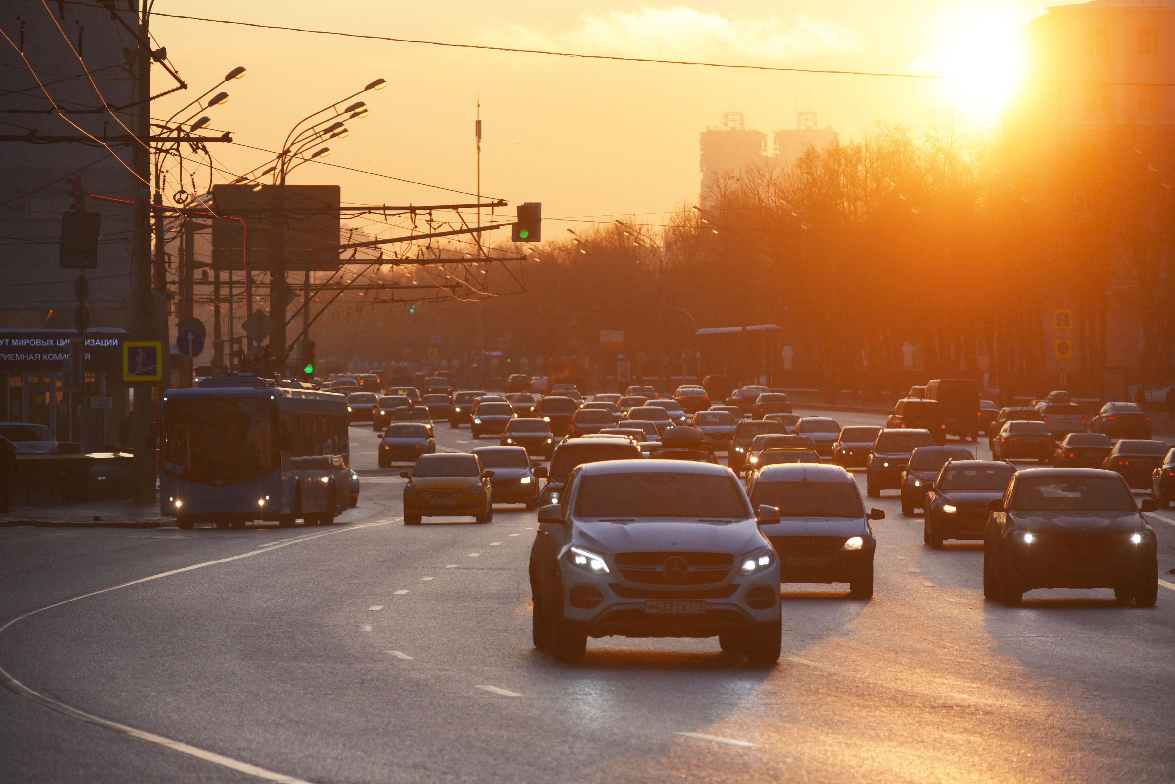 Москвичей предупредили о пятничных пробках