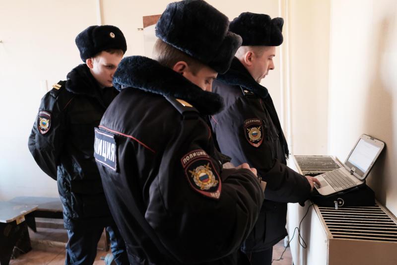 Полицейскими УВД юга столицы задержан подозреваемый в хулиганстве. Фото: сайт мэра Москвы