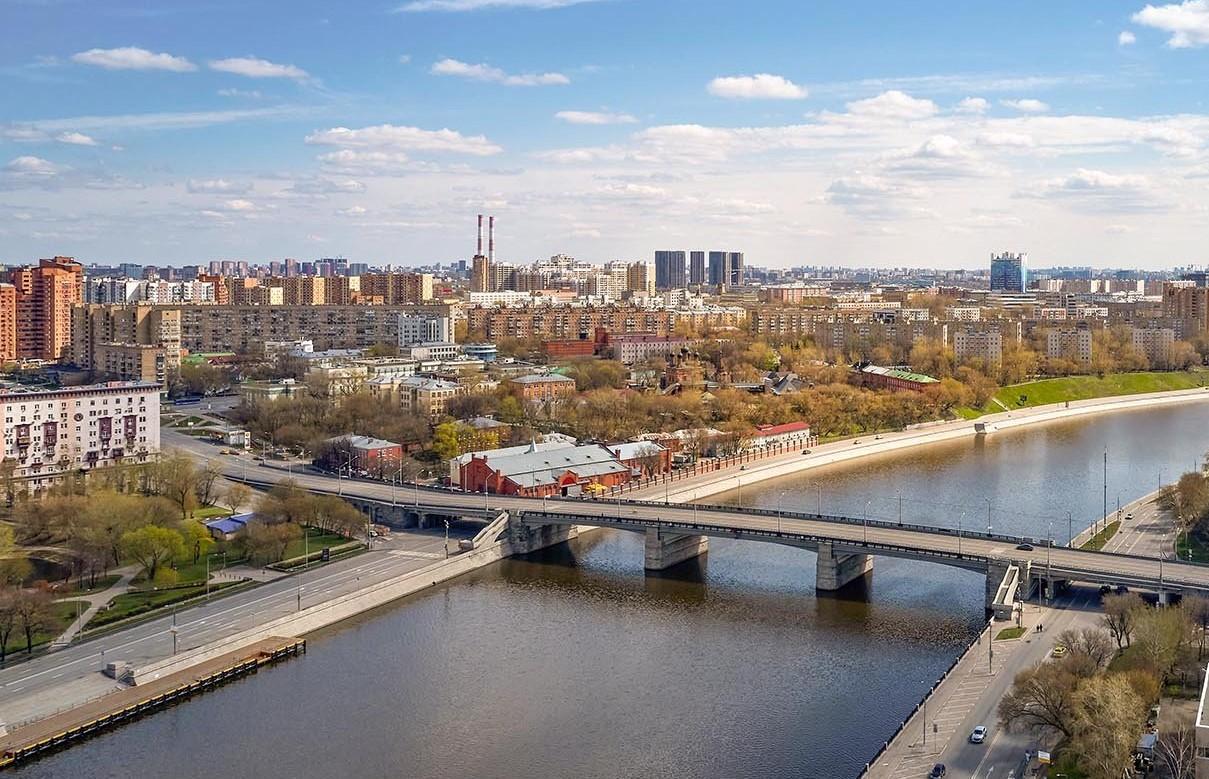 Крутицкую набережную реконструируют на юге Москвы