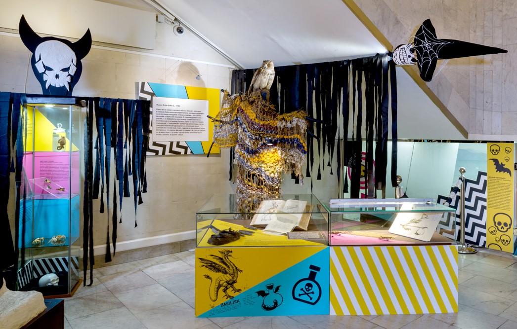 Мистическую выставку открыли в Дарвиновском музее