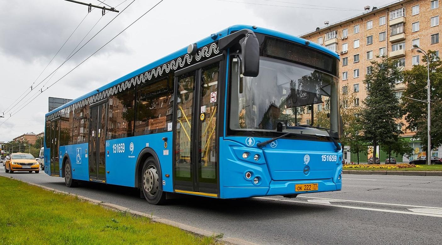 Ночной автобусный маршрут из центра будет проходить на юге Москвы