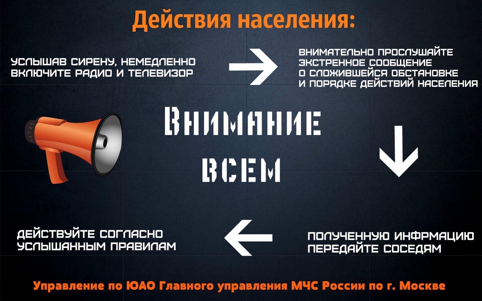 Управление по ЮАО Главного управления МЧС Россиипо Москве информирует