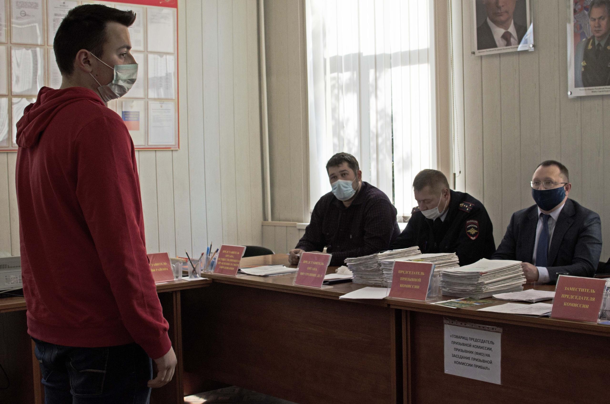 Начало осенней призывной кампании объявили в Орехове-Борисове Южном