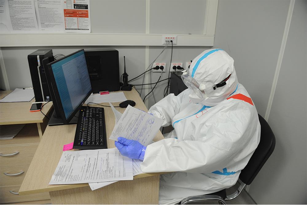 Москвичи смогут узнать результаты теста на коронавирус по смс